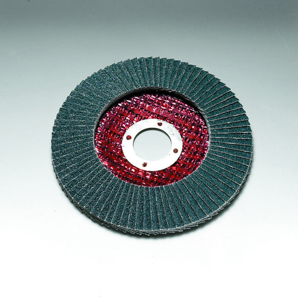 Stingray 100 x 16 mm Diameter Angled Flap Discs. Fibreglass Backed [Series 2824]