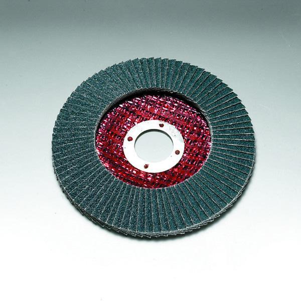 Stingray 115 x 22 mm Diameter Angled Flap Discs. Fibreglass Backed [Series 2824]