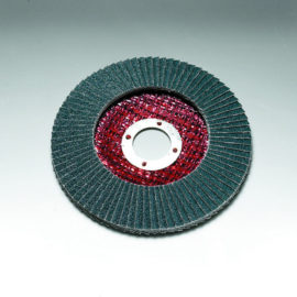 Stingray 125 x 22 mm Diameter Angled Flap Discs. Fibreglass Backed [Series 2824]