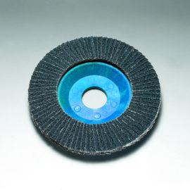 Stingray 115 x 22 mm Diameter Angled Flap Discs. Plastic Backed [Series 2824]