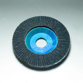 Stingray 125 x 22 mm Diameter Flat Flap Discs. Plastic Backed [Series 2824]