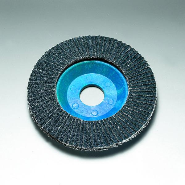 Stingray 125 x 22 mm Diameter Angled Flap Discs. Plastic Backed [Series 2824]