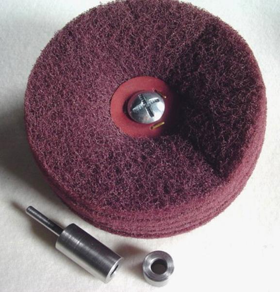 Heavy Duty Diameter 150 mm x 6 Laps siafleece Lap Mops, Medium S [Series 6130]