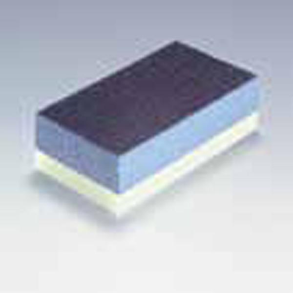 Medium / Extra Soft Double Sided 70 x 125 mm Hand Sanding Block [Series 9090]